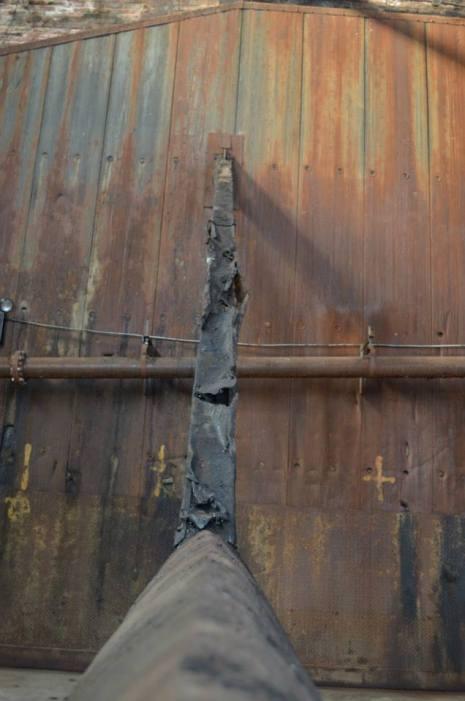 Wall buttress (c) Winter Shanck, 2014