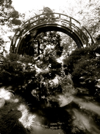 Circle Bridge, Japanese Tea Garden, San Francisco, CA