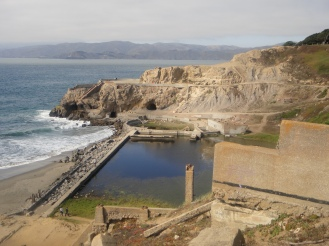 Public bath ruins, Lands End, San Francisco, CA (c) Winter Shanck, 2012
