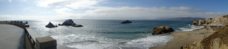 Seal Rock at Ocean Beach, San Francisco, CA