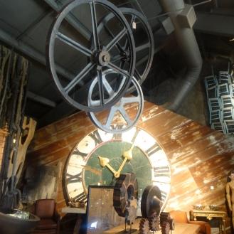 Wheels and Clocks, Cornerstone Gardens Sonoma, Sonoma, CA