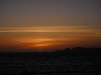 Sunset at Ocean Beach, San Francisco, CA