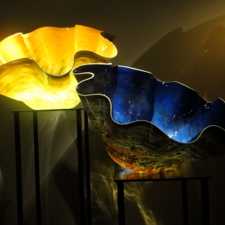 Glass Bowls, Chihuly Glass Sculpture (c) Winter Shanck, 2012