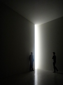 Corner light, James Turrell exhibit at the Guggenhem, New York