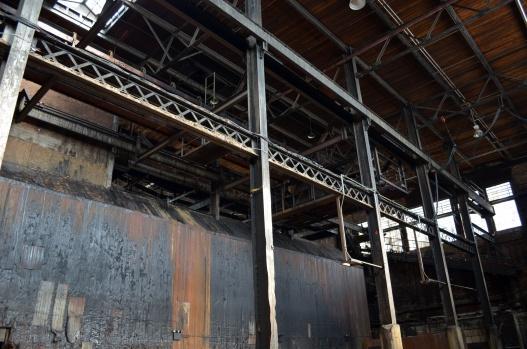 Factory ironwork at the Old Domino Sugar Factory (c) Winter Shanck, 2014