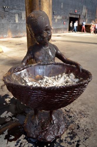 Resin sculpture with sugar in basket (c) Winter Shanck, 2014