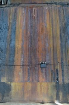 Rusty wall at the Old Domino Sugar Factory (c) Winter Shanck, 2014