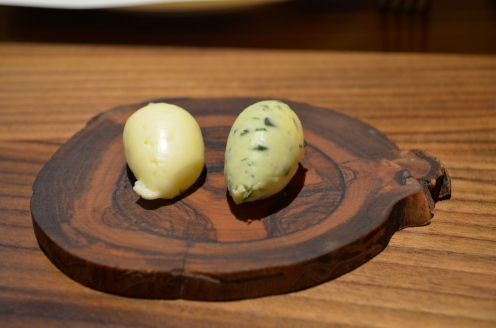 Butter and Butter with Herbs (c) Winter Shanck, 2014