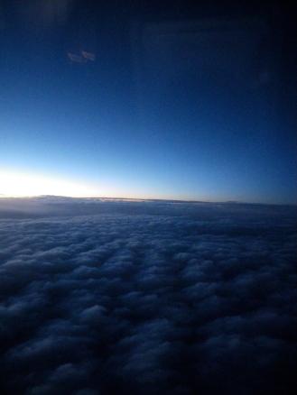 Clouds, airplane (c) Winter Shanck