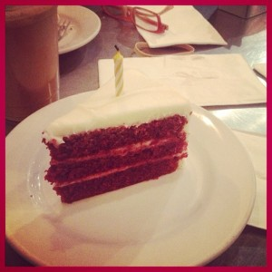 Red Velvet Cake at Tazza (c) Winter Shanck