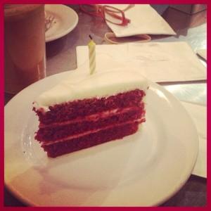 Red Velvet Cake at Tazza (c) Winter Shanck