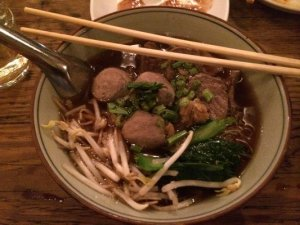 Pa-Yao Beef Noodle Soup Photo credit: Mark S.