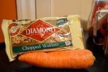 Carrot and Chopped Walnuts (c) Winter Shanck, 2014