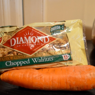 Carrot and Chopped Walnuts (c) Winter Shanck, 2014