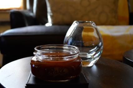 BBQ sauce, homemade (c) Winter Shanck, 2014
