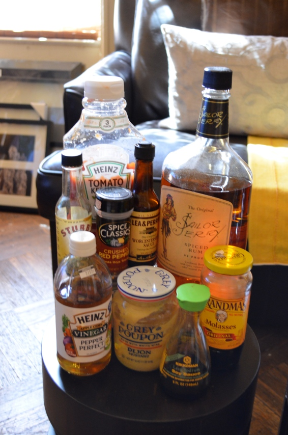 BBQ Sauce components (c) Winter Shanck, 2014
