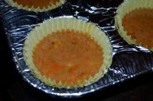 Carrot cake cupcake, uncooked (c) Winter Shanck, 2014
