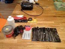 Tools: Dental tools, paste wax, Jax Pewter Black Wire (c) Winter Shanck, 2014