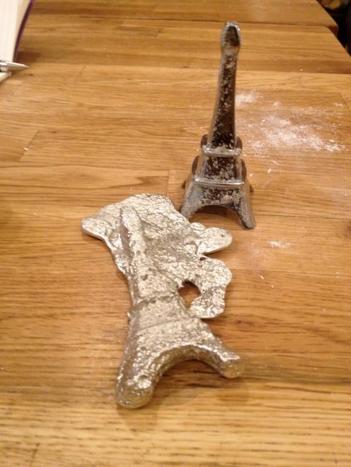 Original and cast Eiffel Tower (c) Winter Shanck, 2014