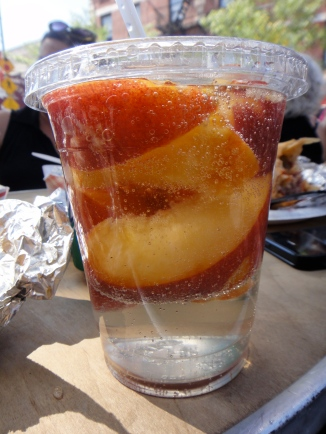 Peaches and WIne Spritzer, Ferragosto Festival, Bronx, NY (c) Winter Shanck, 2014