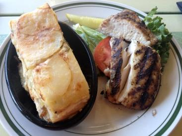 Grilled Mahi Mahi with Potato au Gratin Max's on Broad (c) Winter Shanck, 2013