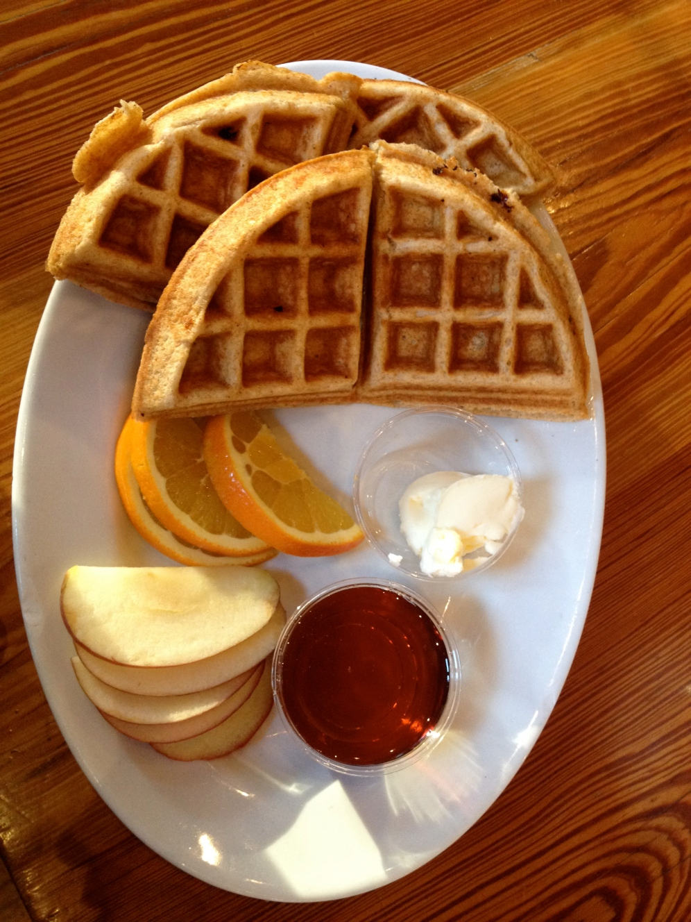 Whole Wheat Pancakes The Urban Farmhouse and Market, Richmond, VA (c) Winter Shanck, 2013