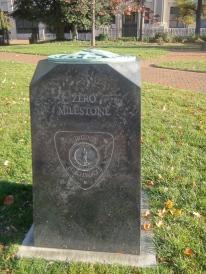 Zero Milestone, Virginia Capitol (c) Winter Shanck, 2013