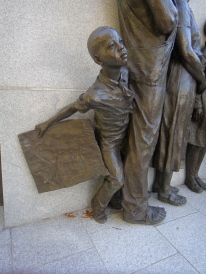 Boy, Civil Rights Monument (c) Winter Shanck, 2013