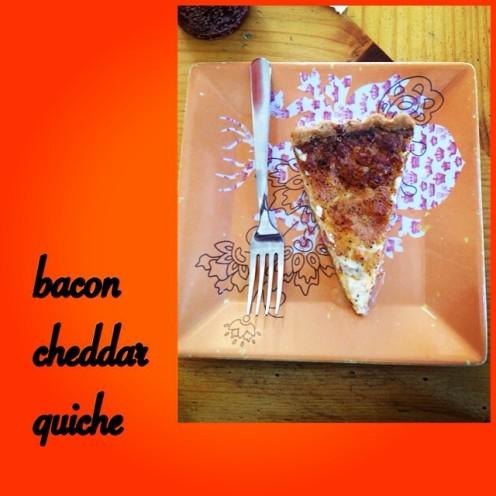 bacon cheddar quiche