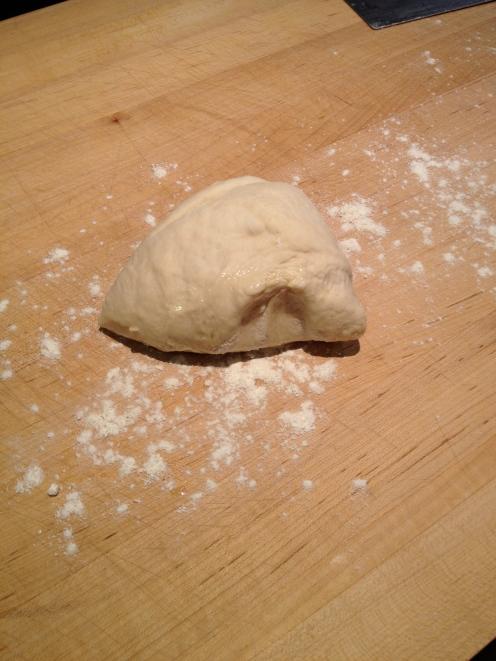Quarter of the dough