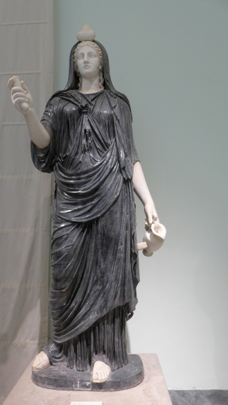 Isis, marble, 2nd century
