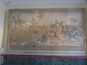 Remnants of the Alexander Mosaic