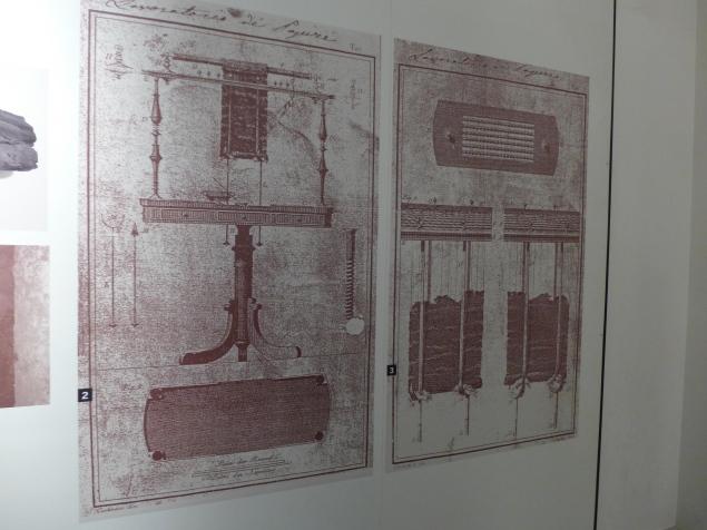 Sketch of Piaggio's machine