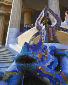 park-guell-dragon