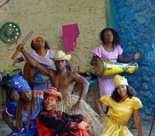 "Callejon de Hamel ""Santeria"" dancers"