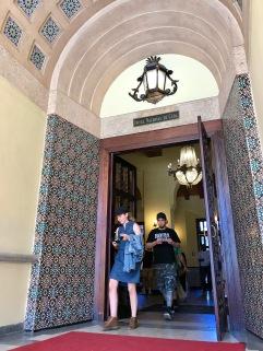 Hotel Nacional door