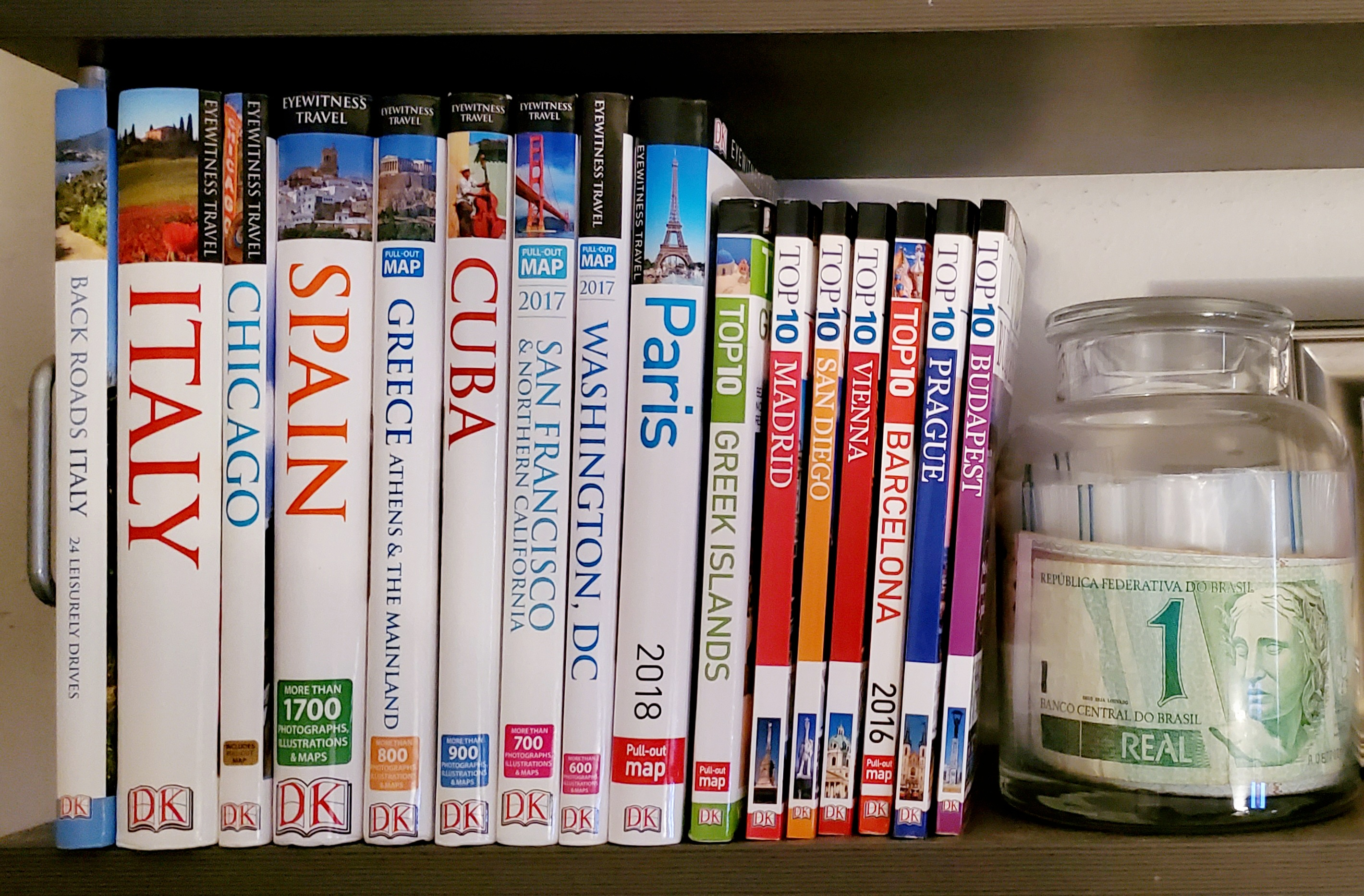 DK Eyewitness Travel guidebooks