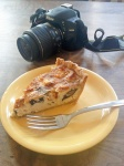 Bakehouse's Turkey, Mushroom and Gouda quiche